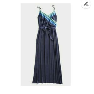 GOLDRAY Mika Satin Maxi Dress